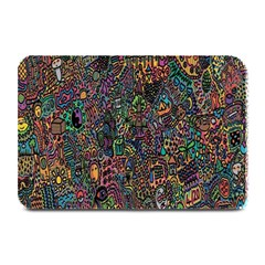 Trees Internet Multicolor Psychedelic Reddit Detailed Colors Plate Mats