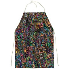 Trees Internet Multicolor Psychedelic Reddit Detailed Colors Full Print Aprons