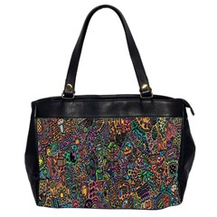 Trees Internet Multicolor Psychedelic Reddit Detailed Colors Office Handbags (2 Sides)
