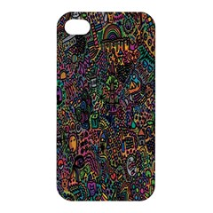 Trees Internet Multicolor Psychedelic Reddit Detailed Colors Apple Iphone 4/4s Hardshell Case
