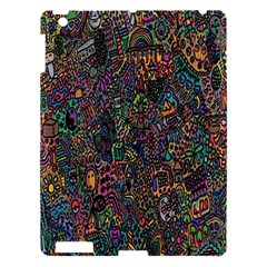 Trees Internet Multicolor Psychedelic Reddit Detailed Colors Apple Ipad 3/4 Hardshell Case
