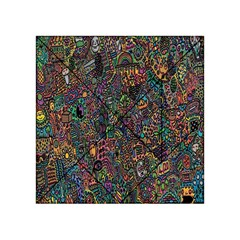 Trees Internet Multicolor Psychedelic Reddit Detailed Colors Acrylic Tangram Puzzle (4  x 4 )