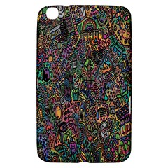 Trees Internet Multicolor Psychedelic Reddit Detailed Colors Samsung Galaxy Tab 3 (8 ) T3100 Hardshell Case