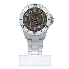 Trees Internet Multicolor Psychedelic Reddit Detailed Colors Plastic Nurses Watch