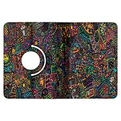 Trees Internet Multicolor Psychedelic Reddit Detailed Colors Kindle Fire HDX Flip 360 Case