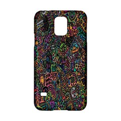 Trees Internet Multicolor Psychedelic Reddit Detailed Colors Samsung Galaxy S5 Hardshell Case