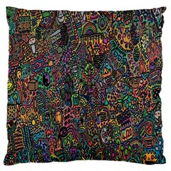 Trees Internet Multicolor Psychedelic Reddit Detailed Colors Standard Flano Cushion Case (Two Sides)