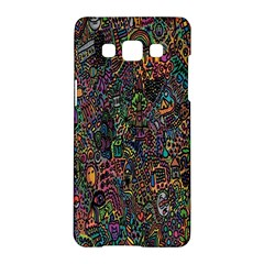 Trees Internet Multicolor Psychedelic Reddit Detailed Colors Samsung Galaxy A5 Hardshell Case