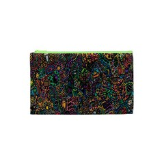 Trees Internet Multicolor Psychedelic Reddit Detailed Colors Cosmetic Bag (xs)
