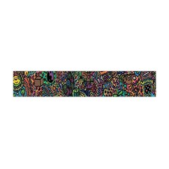 Trees Internet Multicolor Psychedelic Reddit Detailed Colors Flano Scarf (Mini)
