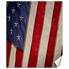 Usa Flag Canvas 20  x 24