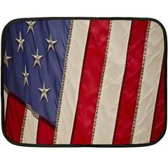 Usa Flag Fleece Blanket (Mini)