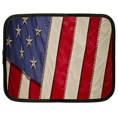 Usa Flag Netbook Case (XL)
