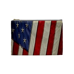 Usa Flag Cosmetic Bag (Medium)