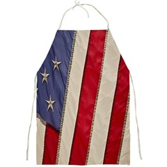 Usa Flag Full Print Aprons