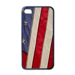 Usa Flag Apple iPhone 4 Case (Black)