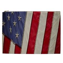 Usa Flag Cosmetic Bag (XXL)