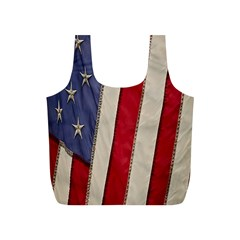 Usa Flag Full Print Recycle Bags (S)