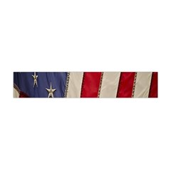 Usa Flag Flano Scarf (Mini)