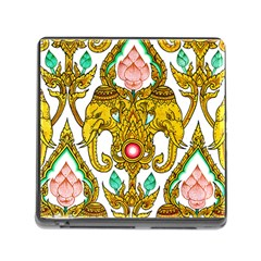 Traditional Thai Style Painting Memory Card Reader (square)