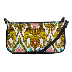 Traditional Thai Style Painting Shoulder Clutch Bags