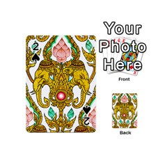 Traditional Thai Style Painting Playing Cards 54 (Mini)
