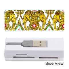 Traditional Thai Style Painting Memory Card Reader (Stick)