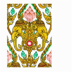 Traditional Thai Style Painting Large Garden Flag (two Sides)