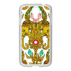 Traditional Thai Style Painting Samsung Galaxy S4 I9500/ I9505 Case (white)