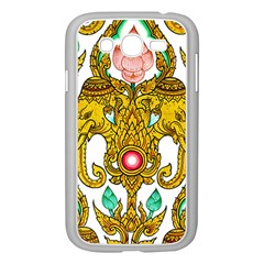 Traditional Thai Style Painting Samsung Galaxy Grand DUOS I9082 Case (White)