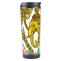 Traditional Thai Style Painting Travel Tumbler