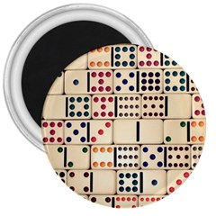 Old Domino Stones 3  Magnets