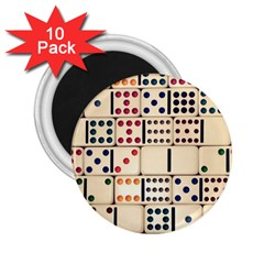 Old Domino Stones 2.25  Magnets (10 pack)