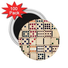 Old Domino Stones 2.25  Magnets (100 pack)