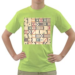 Old Domino Stones Green T-Shirt