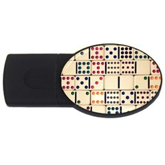 Old Domino Stones USB Flash Drive Oval (1 GB)