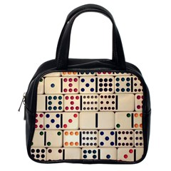 Old Domino Stones Classic Handbags (One Side)