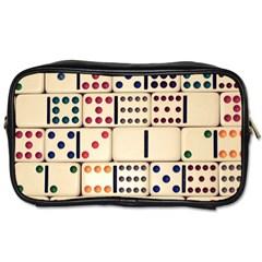 Old Domino Stones Toiletries Bags