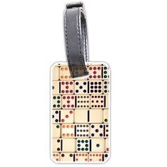 Old Domino Stones Luggage Tags (One Side)