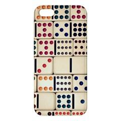Old Domino Stones Apple iPhone 5 Premium Hardshell Case