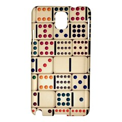 Old Domino Stones Samsung Galaxy Note 3 N9005 Hardshell Case