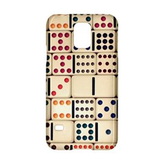 Old Domino Stones Samsung Galaxy S5 Hardshell Case