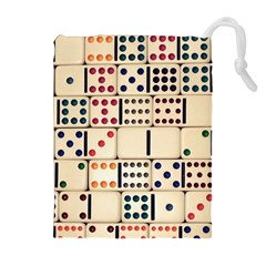 Old Domino Stones Drawstring Pouches (Extra Large)