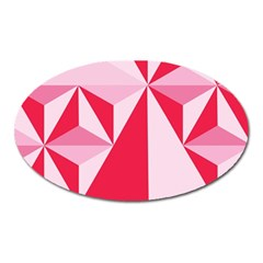 3d Pattern Experiments Oval Magnet