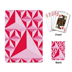 3d Pattern Experiments Playing Card
