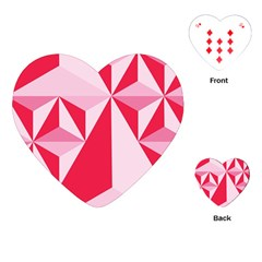 3d Pattern Experiments Playing Cards (Heart)
