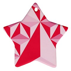 3d Pattern Experiments Star Ornament (Two Sides)