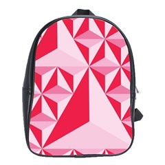 3d Pattern Experiments School Bags(Large)