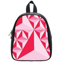 3d Pattern Experiments School Bags (small)