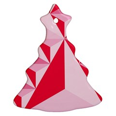 3d Pattern Experiments Christmas Tree Ornament (Two Sides)
